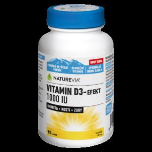 VITAMIN D3-EFEKT 1000I.U.
