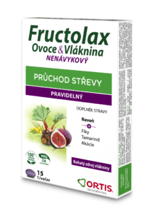 FRUCTOLAX FRUIT AND FIBER TABLETS