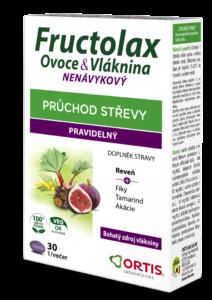 FRUCTOLAX OVOCE&VLÁKNINA TABLETY