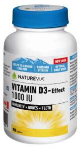 VITAMIN D3-EFFECT 1000 IU