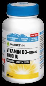VITAMIN D3-EFFECT 1000 IU