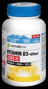 VITAMIN D3-EFFECT 2000 I.U.