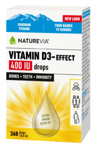VITAMIN D3-EFFECT 400 IU DROPS