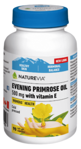EVENING PRIMROSE OIL WITH VITAMIN E