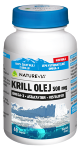 Krill olej 500 mg