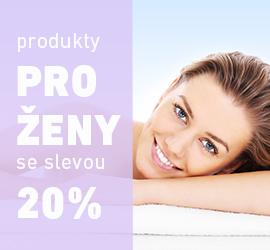 Produkty pro ženy se slevou 20%
